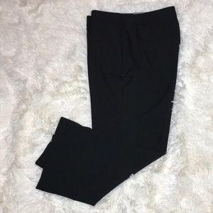 Ann Taylor Curvy Black Ankle Pant, Size 6P, NWT